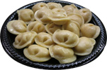 Plate of Pelmeni (serving suggestion)